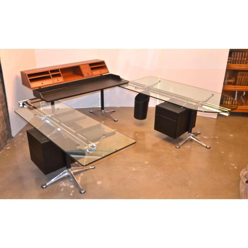 Herman Miller Desk By Bruce Burdick Fully Adjustable Components