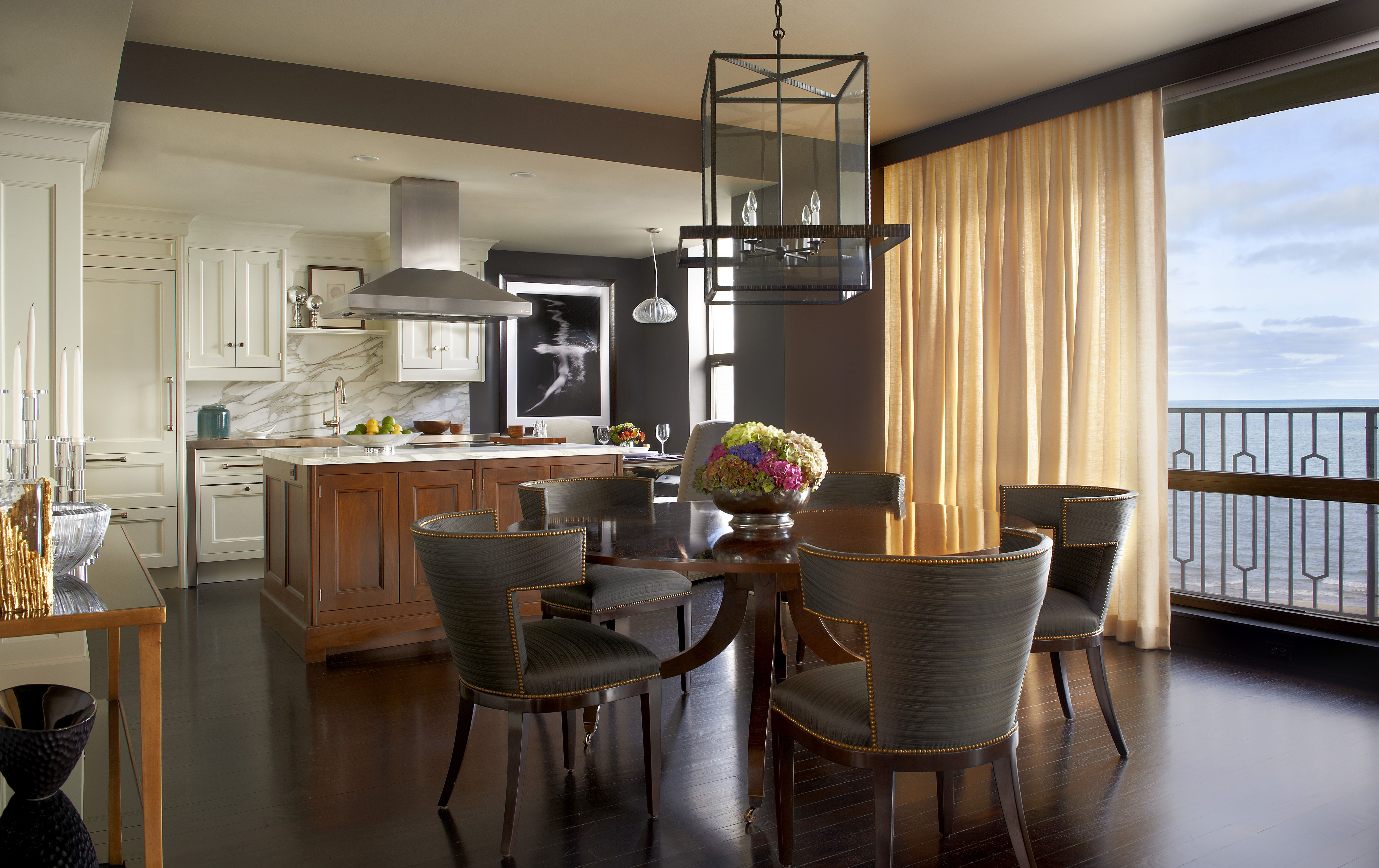 L shaped kitchen dining room dining room design ideas l shaped kitchen dining room mesmerizing the style and comfort of the kitchen and dining room dzzzfo