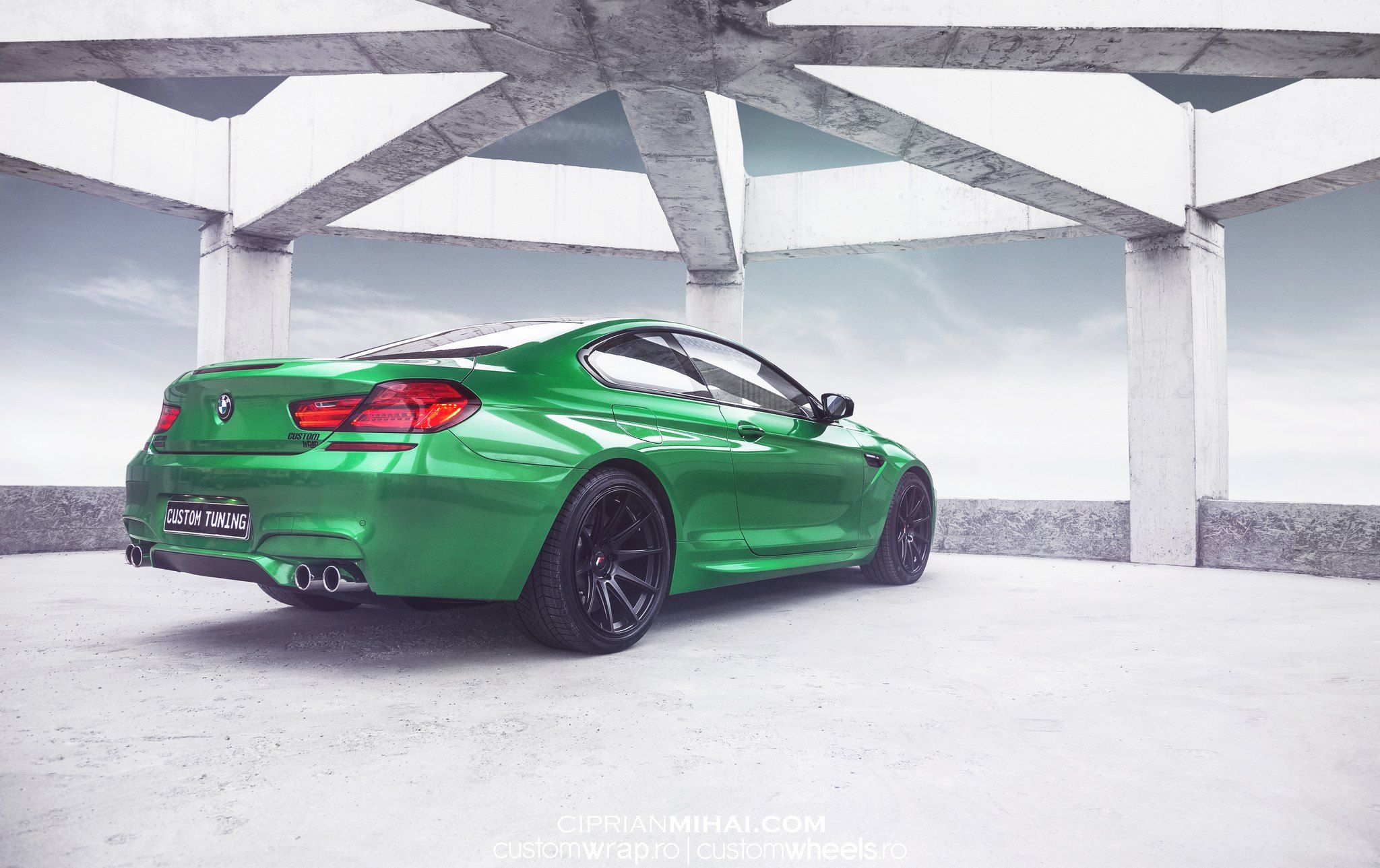 Green Is Gold Custom Bmw 6 Series Bmw M6