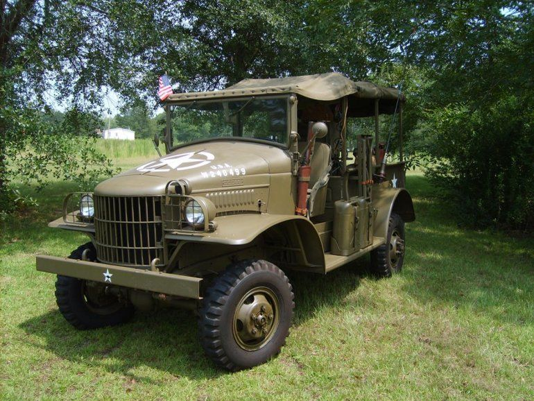 1942 Dodge Wc Wc 21 Ton Open Cab Classic War Machines Dodge