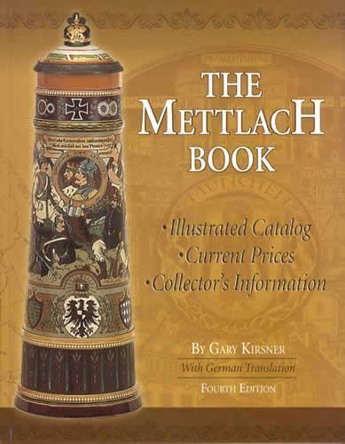 Mettlach Id Book Antique German Beer Steins Vases Marks Books N