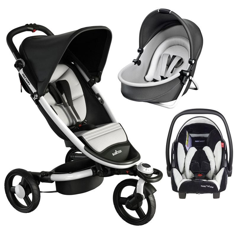 Recaro Zen All Terrain Stroller 650EUR Yoga Carry Cot 230EUR And Young Profi Plus Car Seat 150EUR Dream Combination Total 1030EUR Prices From