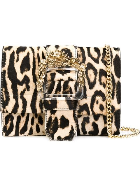 8c19ed0ff54961 Shop Roberto Cavalli leopard print crossbody bag in Tiziana Fausti from the  world's best independent boutiques at farfetch.com. Shop 400 boutiques at  one ...