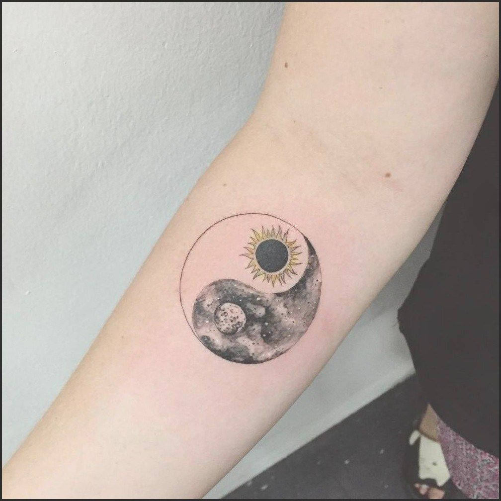 Sun Moon Star Tattoo Meaning Best Sun And Moon Tattoos On Wrist