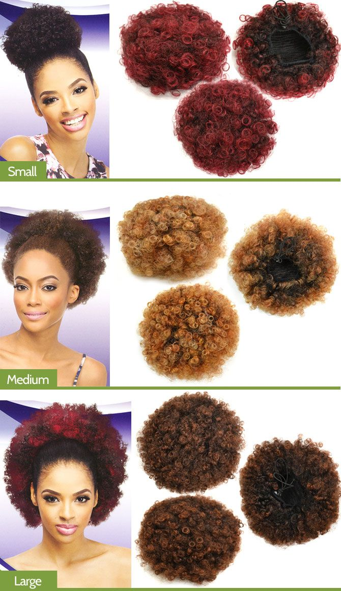 Outre Timeless Ponytail Afro Small Medium Large