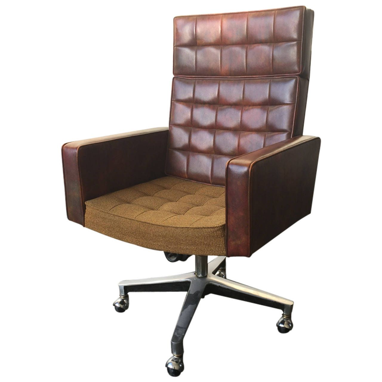 Executive Desk Chair Designed By Vincent Cafiero For Knoll