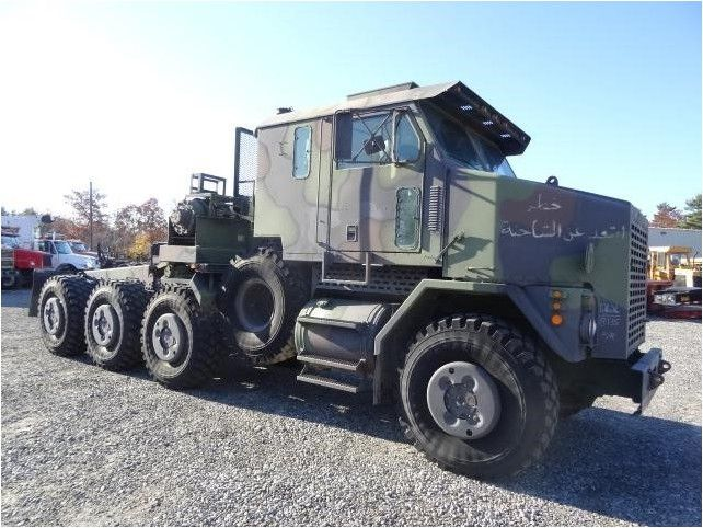 Used Trucks For Sale In Ma >> 2001 Oshkosh M1070 Military Truck Brookside Equipment