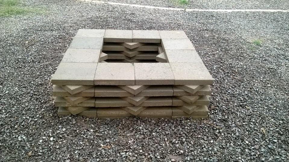 Marvelous Build Square Fire Pit Part - 4: Do It Yourself Fire Pit