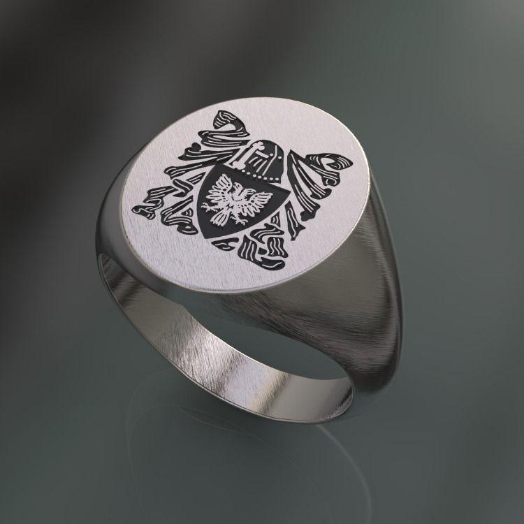 ultimi progetti diversificati professionale più votato scegli l'ultima Primo sketch di un anello sigillo personalizzato con stemma ...