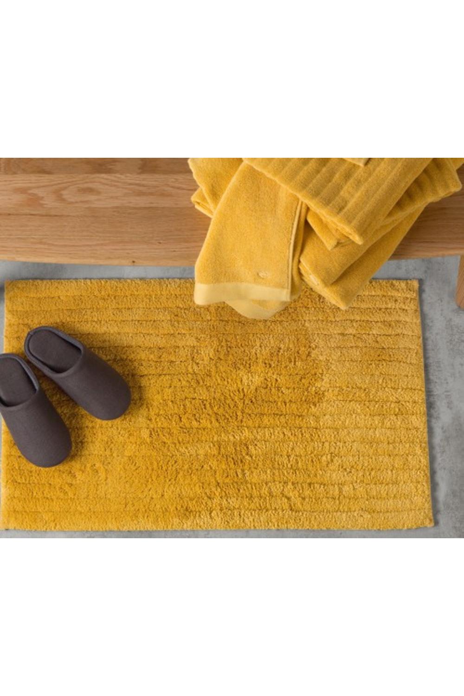 Made Mustard Towel Bath Mat Yellow Bath Mats Bath
