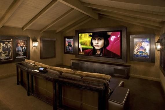 Attic Conversions Make Smart Remodeling Projects A Brand New Outlook Media Room Design Home Home Theater Rooms