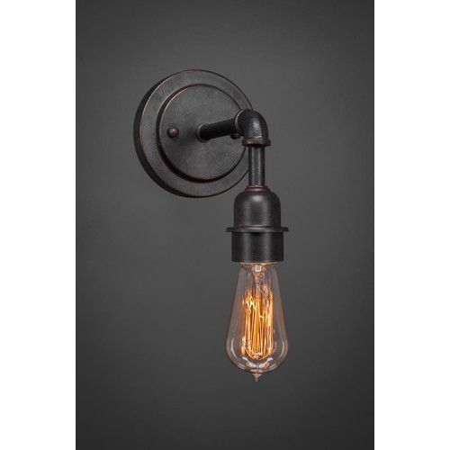 Black wall sconces indoor