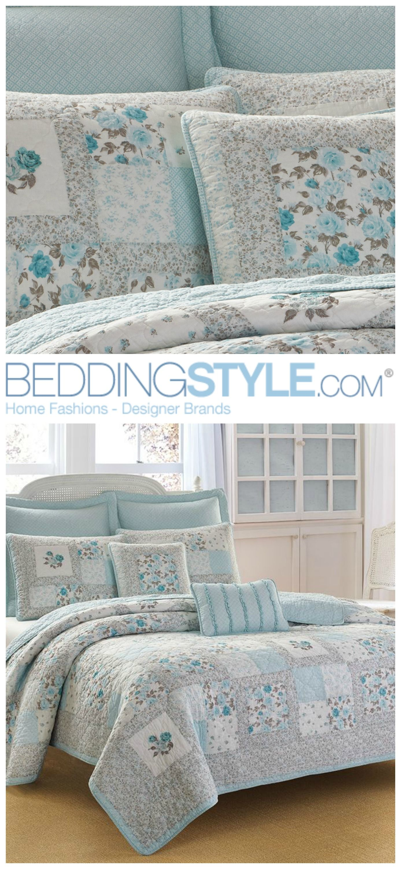 laura ashley everly quilt beddingstyle lauraashley floral