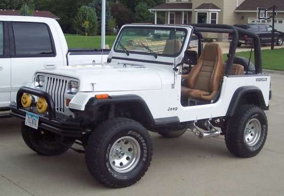 The Best 1993 Jeep Wrangler Yj Factory Service Manual Jeep