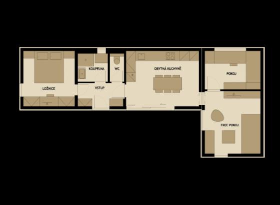 3 modelos de planos de casas peque as de madera modernas for Planos de casas pequenas de una planta