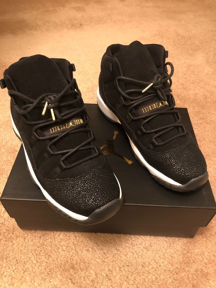 5a9907fbf450be Nike Air Jordan XI 11 Heiress Size (Men s) 7y Black  fashion  clothing