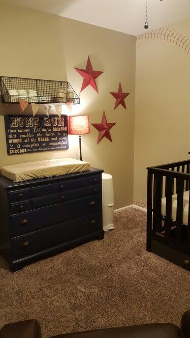 Baseball Themed Nursery Baby Boy