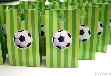 6b596209c fiesta-cumpleanos-futbol-bolsas | Naty | Soccer theme parties ...