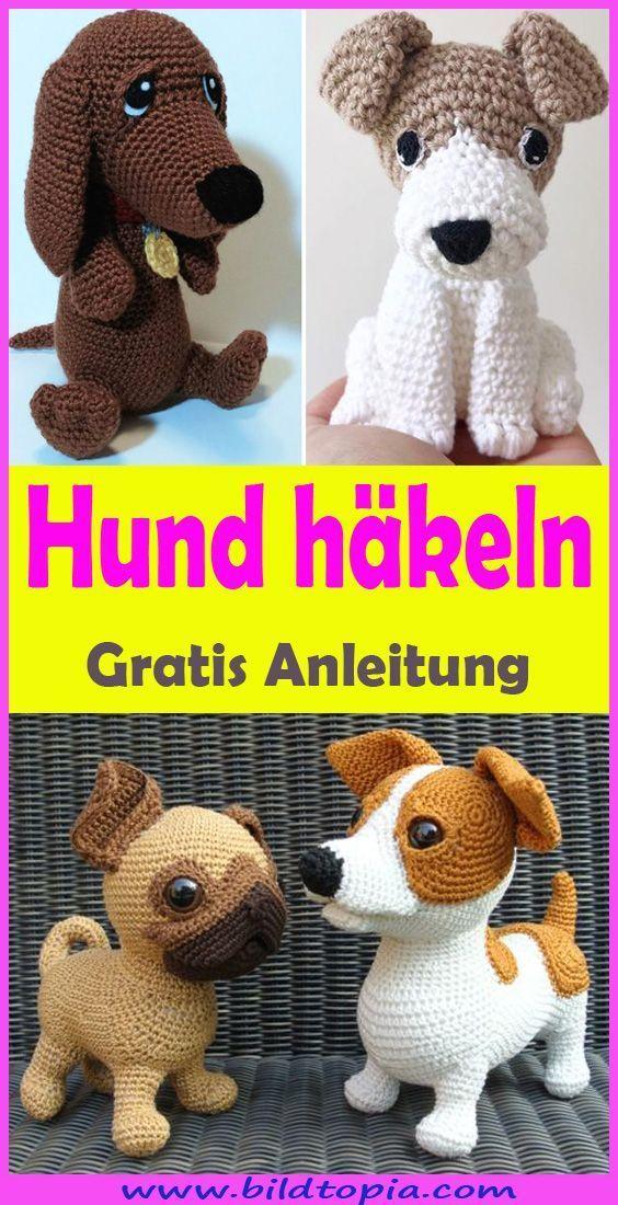 Photo of Hund häkeln – kostenlose DIY Anleitung – Häkeln – Anleitungen – #Anleitung #A… – Ostern