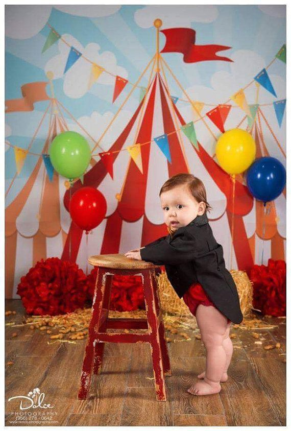 Circus Party Celebration Decor Photography Backdrop