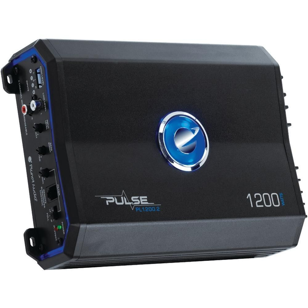 PLANET AUDIO PL1200.2 Pulse Series 2-Channel MOSFET Class AB Amp (1,200