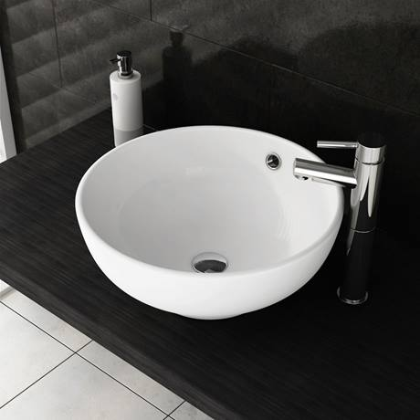 Viva Round Counter Top Basin Now Online At Victorian Plumbing Co