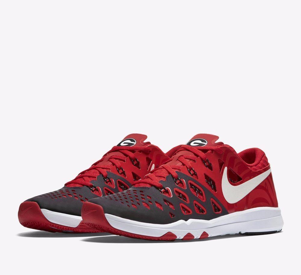 best loved 68542 81bab Nike Train Speed 4 AMP Georgia Bulldogs Mens Shoes Red Black 844102 601   Nike  RunningCrossTraining