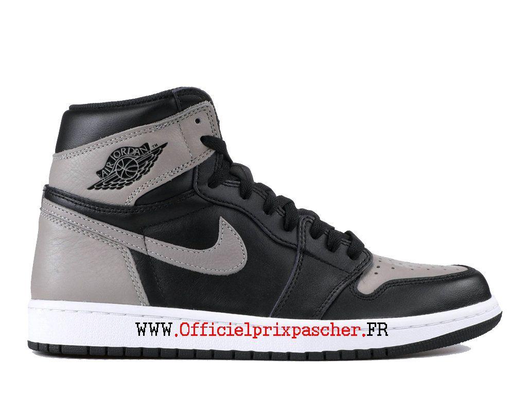 air jordan 1 gris noir et blanc
