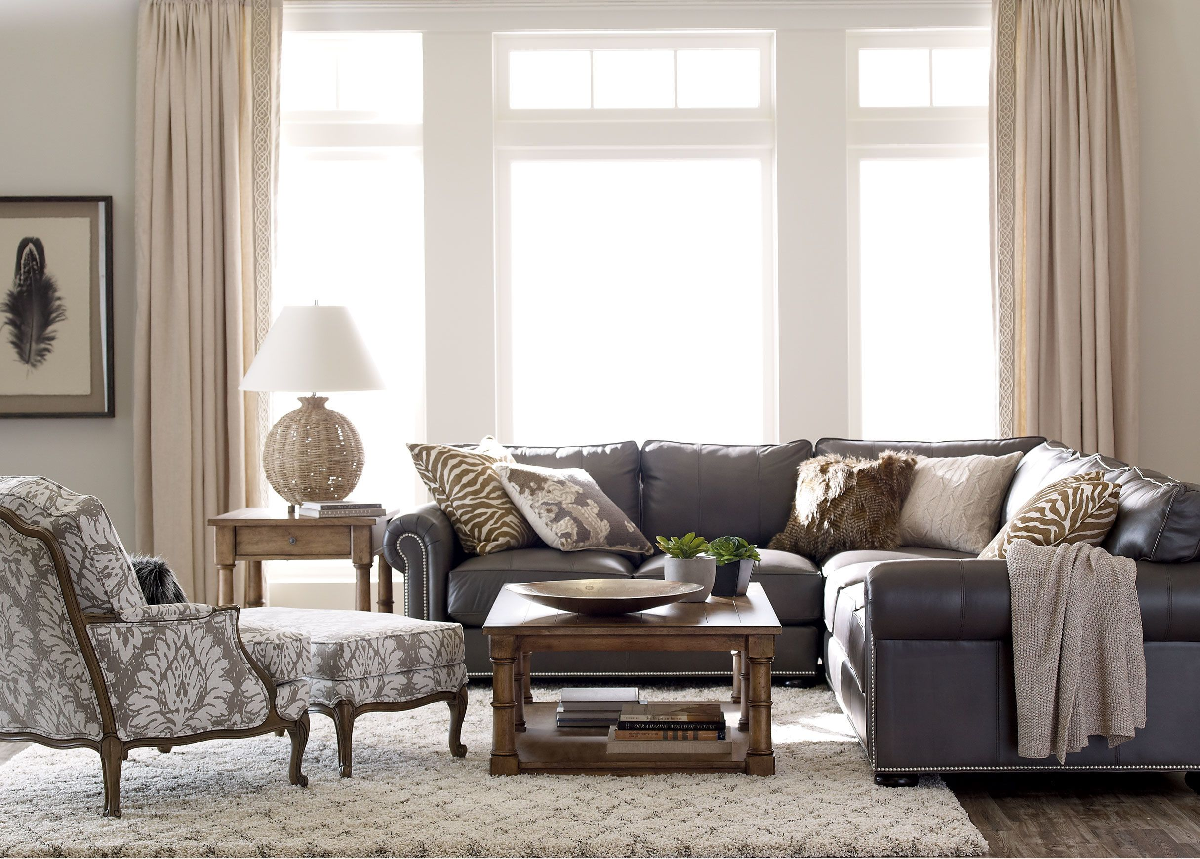 Seagrass Table Lamp | design details ...3 | Pinterest | Living rooms ...
