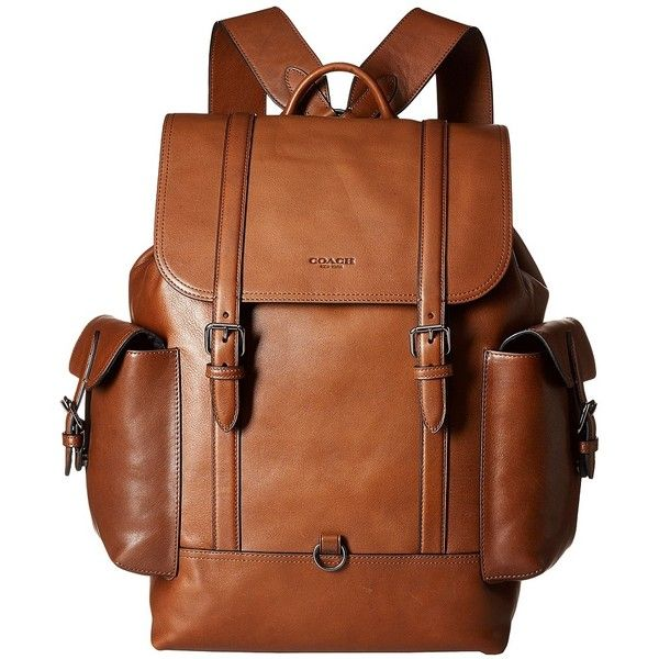 185d99480b1 ... uk coach metropolitan rucksack qb dark saddle backpack bags 695 liked  on polyvore featuring mens fashion