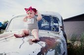Classic Cars & Rockabilly Style // Our latest styled photoshoot for Lil Poopie N…