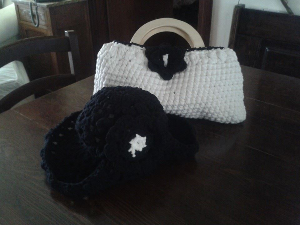 borsa e cappello