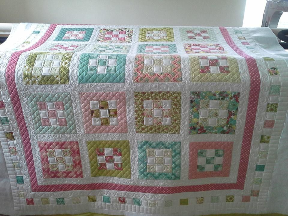Free quilt pattern from Craftsy.com   quilts   Pinterest   Moda ... : free quilt patterns moda - Adamdwight.com