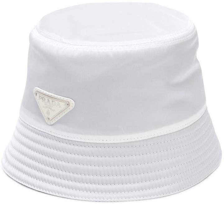 cfe3688565e Prada Logo Bucket Hat - Farfetch