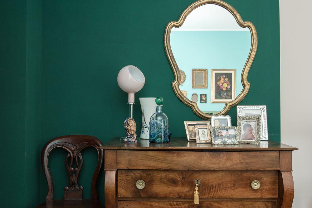 Camere Da Letto Verde Tiffany : Camera da letto elegante e raffinata verde e tiffany mirror