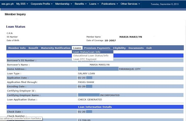 f89b0f666cc1acafa38a4442b0531da7 - How To Check My Sss Loan Application