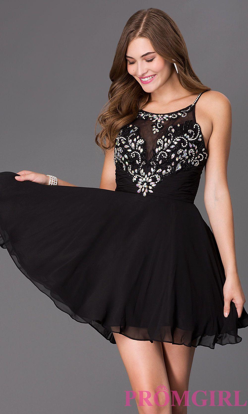 Black Homecoming Dresses | HERMOSAS MUJERES | Pinterest ...