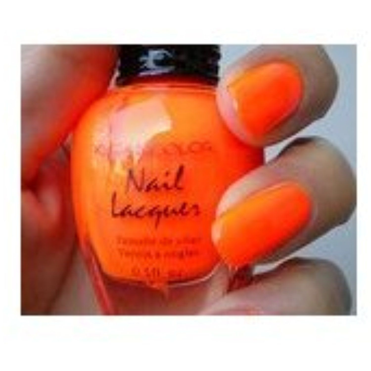 Kleancolor Nail Lacquer Neon Orange 19 * Click image to review more ...
