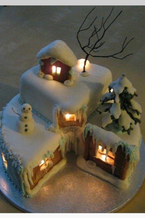 Christmas Cake Ideas Wilton : Christmas cake Christmas themed cakes Pinterest Cake ...