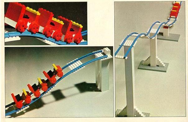 News: Working LEGO Roller Coaster by Matt   Roller coaster, Coasters ...