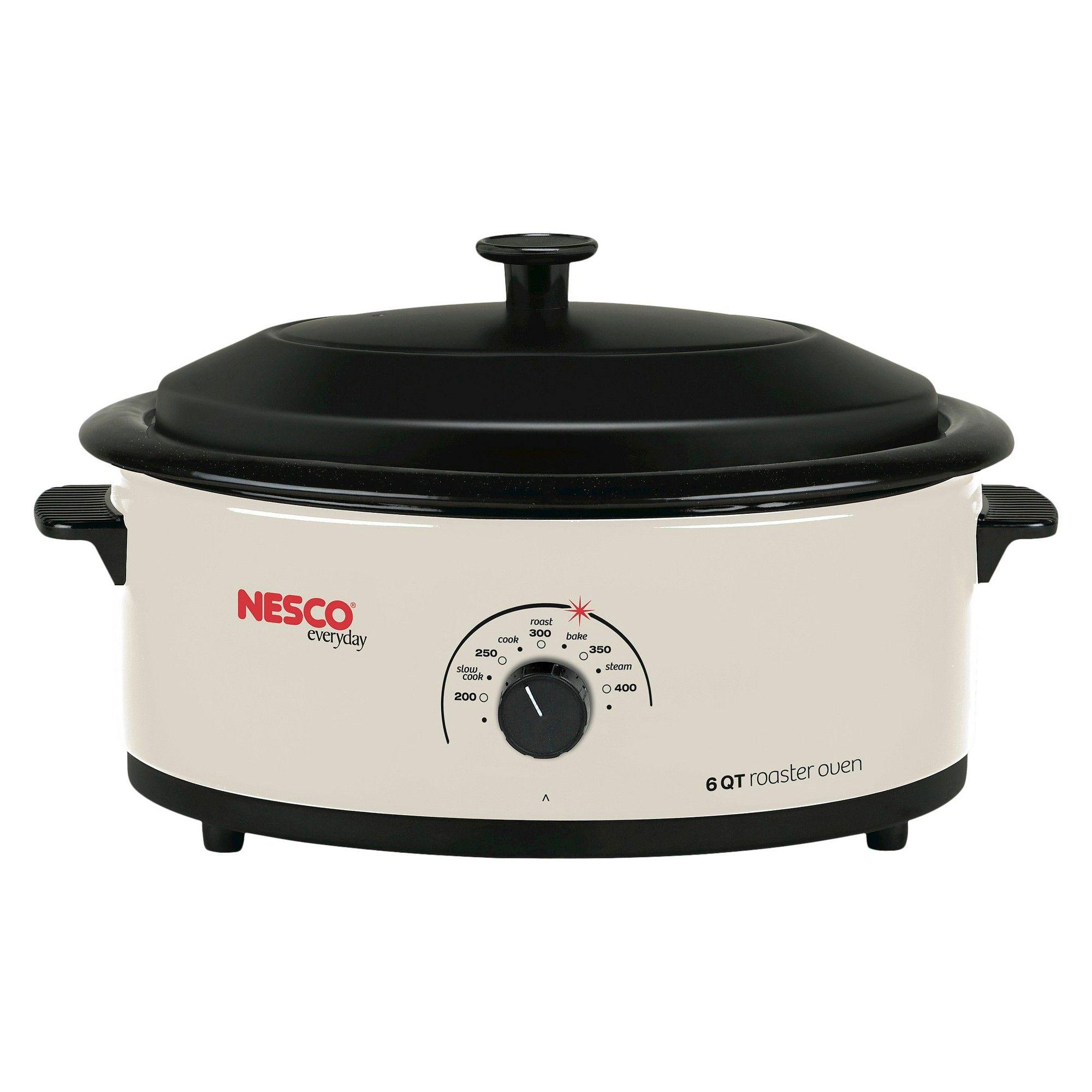 Nesco 6 Qt Roaster Oven Ivory Roaster Ovens Electric Roaster Ovens Roaster