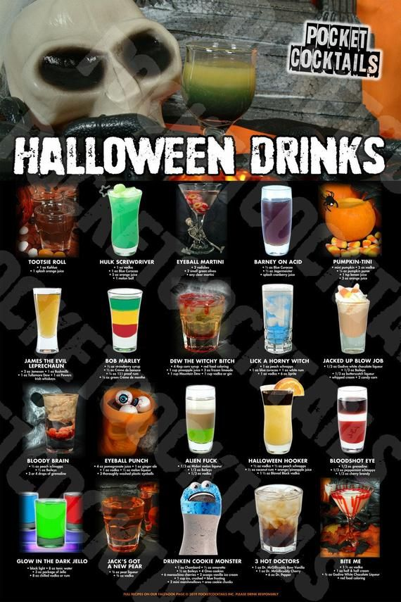100+ Halloween Drinks eBook AND 2 Posters - Digita