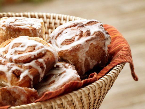 Cinnamon Rolls recipe from Ree Drummond via Food Network