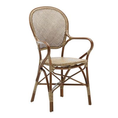 Sika Design Originals Rossini Dining Arm Chair Coffee Bar - esszimmer braun grun