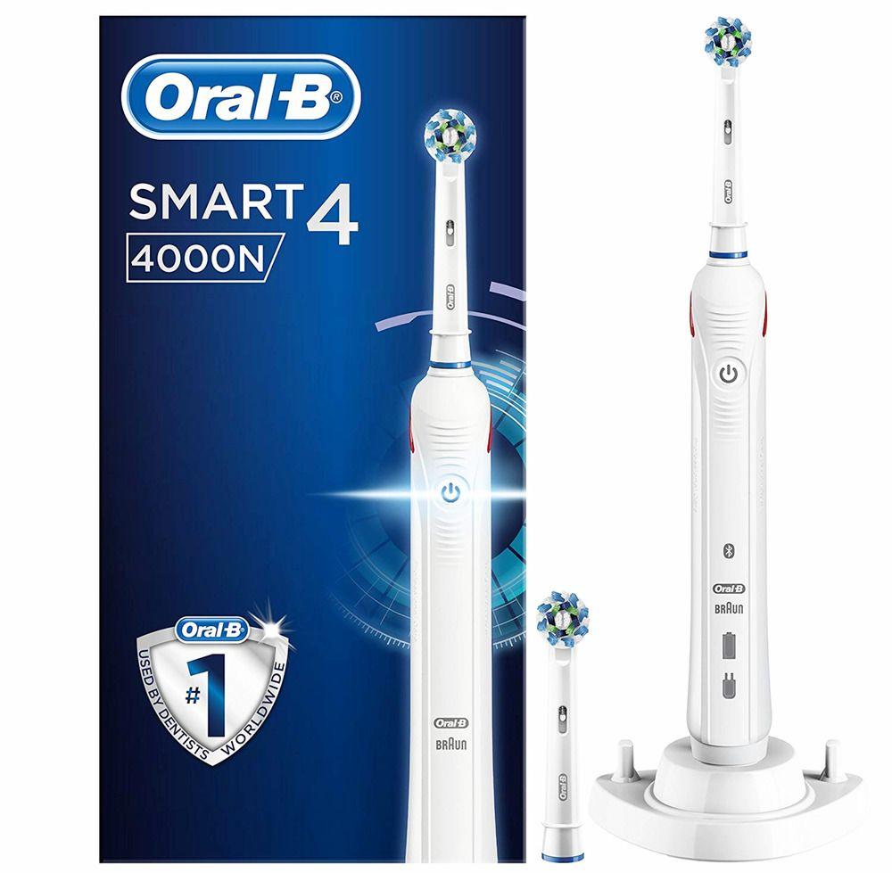 Oralb smart 4 4000n crossaction electric toothbrush