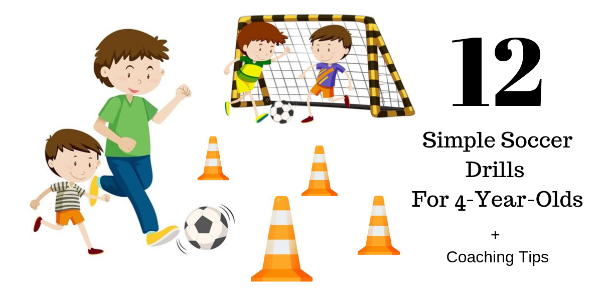 12 Simple Soccer Drills For 4 Year Olds Coaching Tips Soccer Drills Soccer Drills For Kids Kids Soccer