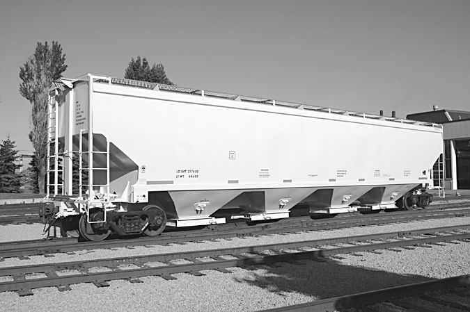 National Steel Car Covered Hopper Freight Cars Cars Covered