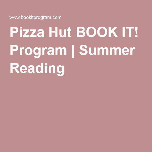 Pizza Hut BOOK IT! Program | Summer Reading
