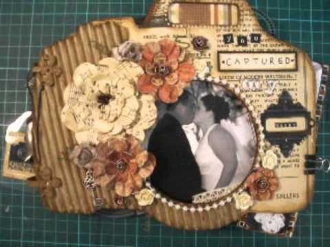 'You Captured My Heart' MDF Camera Mini Album