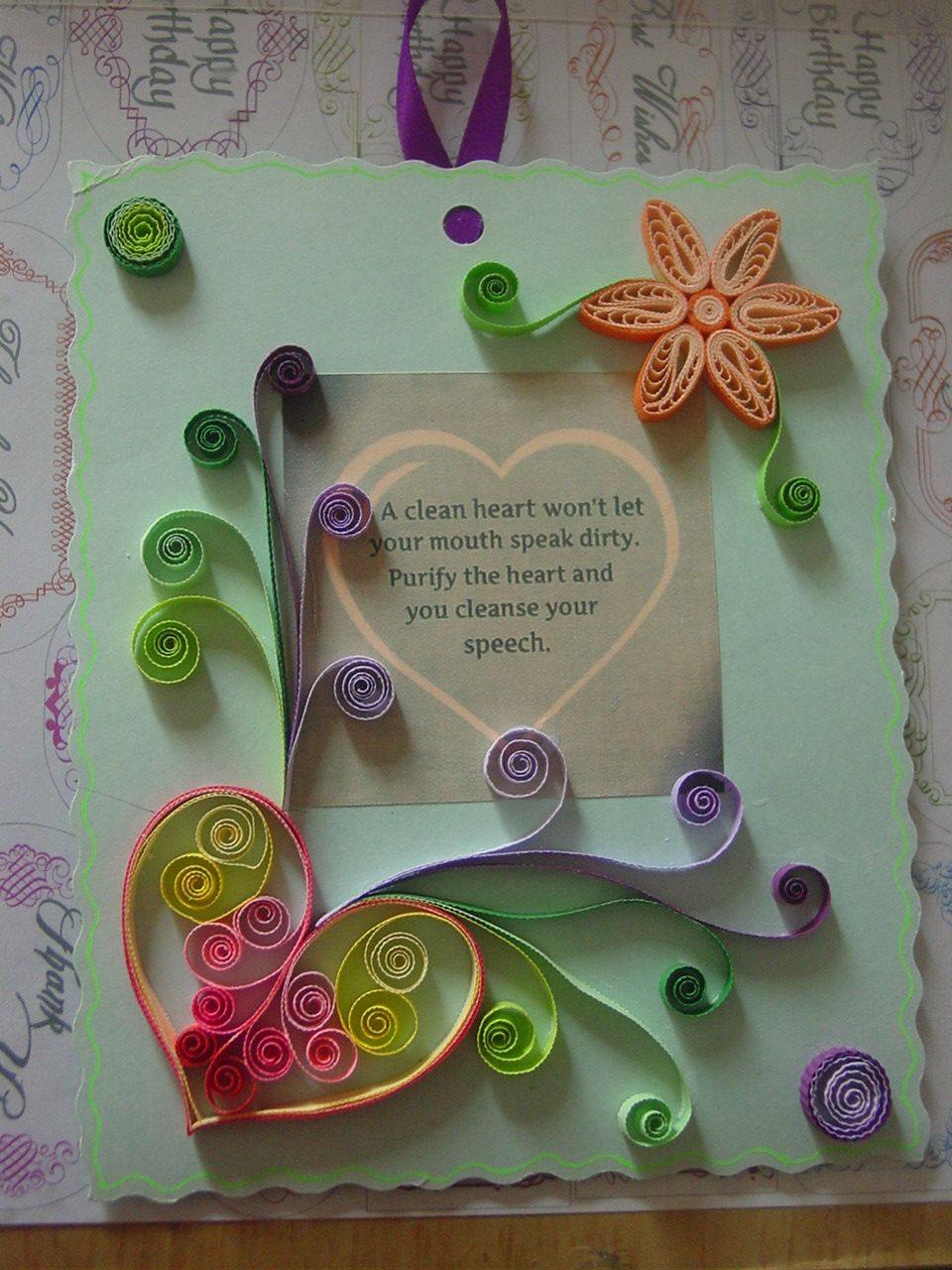 Quilling Quilled Flowers Paper Craft Greeting Cards Quills My
